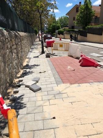 III Fase de adecuación y reposición de pavimentos en zonas urbanas