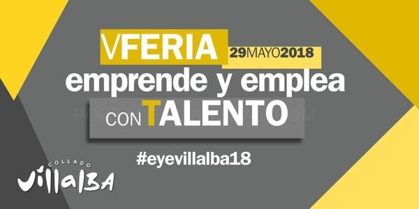 V FERIA EMPRENDE Y EMPLEA DE COLLADO VILLALBA