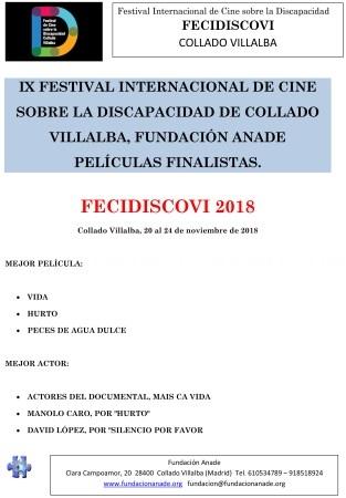 100 producciones concurren al XI Festival Internacional de Cine sobre la Discapacidad de Collado Villalba