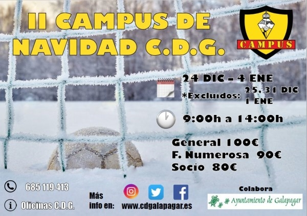 II CAMPUS DE NAVIDAD CDG