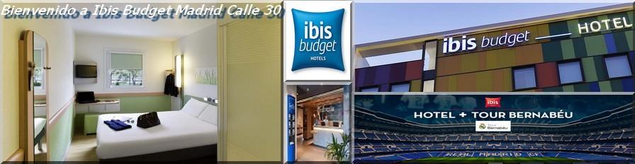 HOTEL IBIS BUDGET MADRID CALLE 30