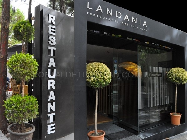 Restaurante en el distrito de Retiro. Landania