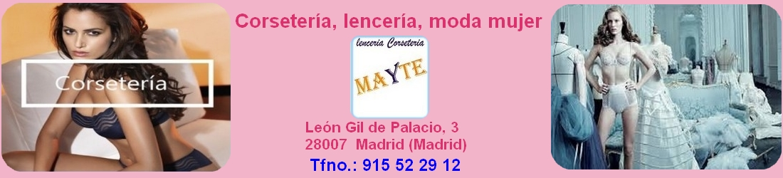 Lenceria,  Corseteria,