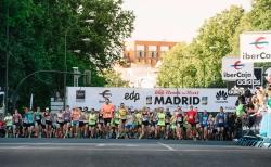 Exito total de la Maratón de Madrid