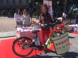 TrendCycle, la pasarela de moda en bicicleta inunda las calles de Madrid