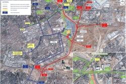 El Ayuntamiento recomienda evitar la circulación en la avenida de Arcentales