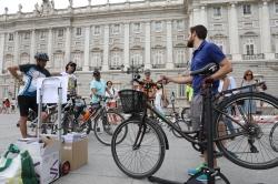 Arrancan los itinerarios ciclistas