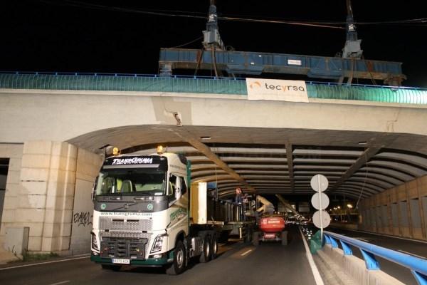 Restablecido el tráfico en M-30-puente de la Avenida del Mediterráneo