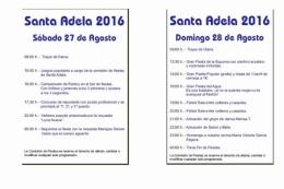 Fiestas del Barrio de Santa Adela 2016