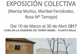 Exposición de Pintura de la artista local Rosa María Tamayo
