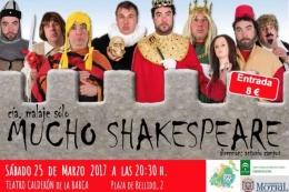 """Teatro Comedia """"Mucho Shakespeare"""""""