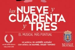 """TEATRO MUSICAL """"LAS NUEVE Y CUARENTA Y TRES"""""""
