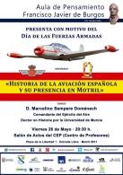 Conferencia «Historia de la aviación española y su presencia en Motril»