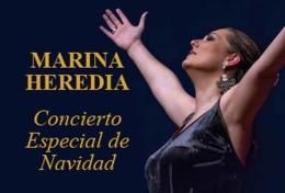 """MARINA HEREDIA """"CONCIERTO ESPECIAL DE NAVIDAD"""""""
