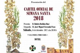 PRESENTACIÓN DEL CARTEL OFICIAL DE SEMANA SANTA 2018