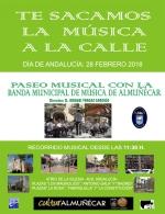 PASEO MUSICAL CON LA BANDA MUNICIPAL DE MÚSICA DE ALMUÑÉCAR