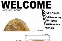 """EXPOSICIÓN """"WELCOME"""" DEL ARTISTA JOSÉ lUIS LOZANO"""