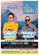 LA NOCHE CANALLA CON DAVID NAVARRO Y MANOLO MORERA