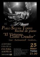 Recital de piano con Pablo Segura Torres