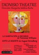 Dionisio Theatre presenta: La Habitación a Oscuras de Tenneesse Williams y Ante la Muerte de August Strindberg