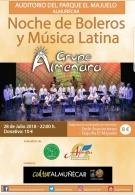 Noche de boleros y música latina con Almenara