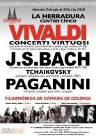 Vivaldi, J.S. Bach, Tchaikovsky y Paganini con la Filarmónica de Cámara de Colonia.