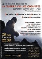 Opera en versión concierto: La guerra de los gigantes (Sebastián Durón 1660-1716)