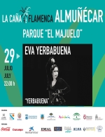 La caña Flamenca 2018 presenta a Eva Yerbabuena.