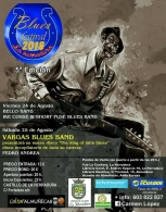 Festival con Bello Band, Ike Cosse & Short Fuse Blues Band y Vargas Blues Band.