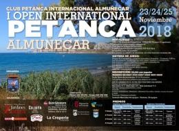 I Open Internacional de Petanca Almuñécar