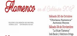 """CICLO """"FLAMENCO EN EL CALDERÓN"""" LA MUJER FLAMENCA: INÉS BACÁN Y MELCHORA ORTEGA"""
