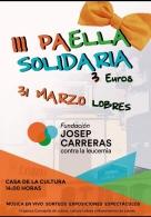 III Paella solidaria a beneficio de la fundación Josep Carreras