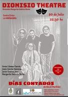 Dionisio Theatre presenta Días Contados de Óscar Martínez