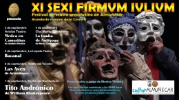 XI Festival de Teatro Grecolatino Sexi Firmum Iulium