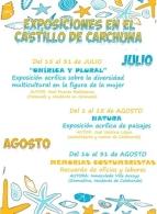 """EXPOSICIÓN EN EL CASTILLO DE CARCHUNA """"MEMORIAS COSTUMBRISTAS"""""""
