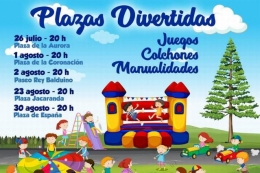 PLAZAS DIVERTIDAS