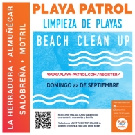 Limpieza en las playas de Almuñécar