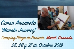"CURSO ACUARELA ""MANOLO JIMÉNEZ"""