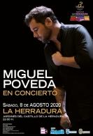 III FESTIVAL NOCHES EN EL CASTILLO DE LA HERRADURA. MIGUEL POVEDA EN CONCIERTO