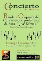 """""""Banda y Orquesta del Conservatorio profesional de Baza José Salinas"""""""