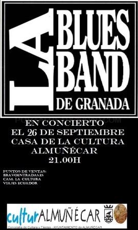 Concierto  Blues Band de Granada