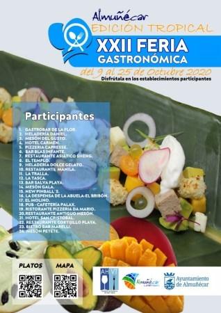 XXII Feria Gastronómica de Almuñécar