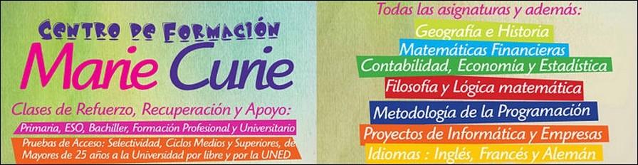 Academia Marie Curie en Motril (Granada)