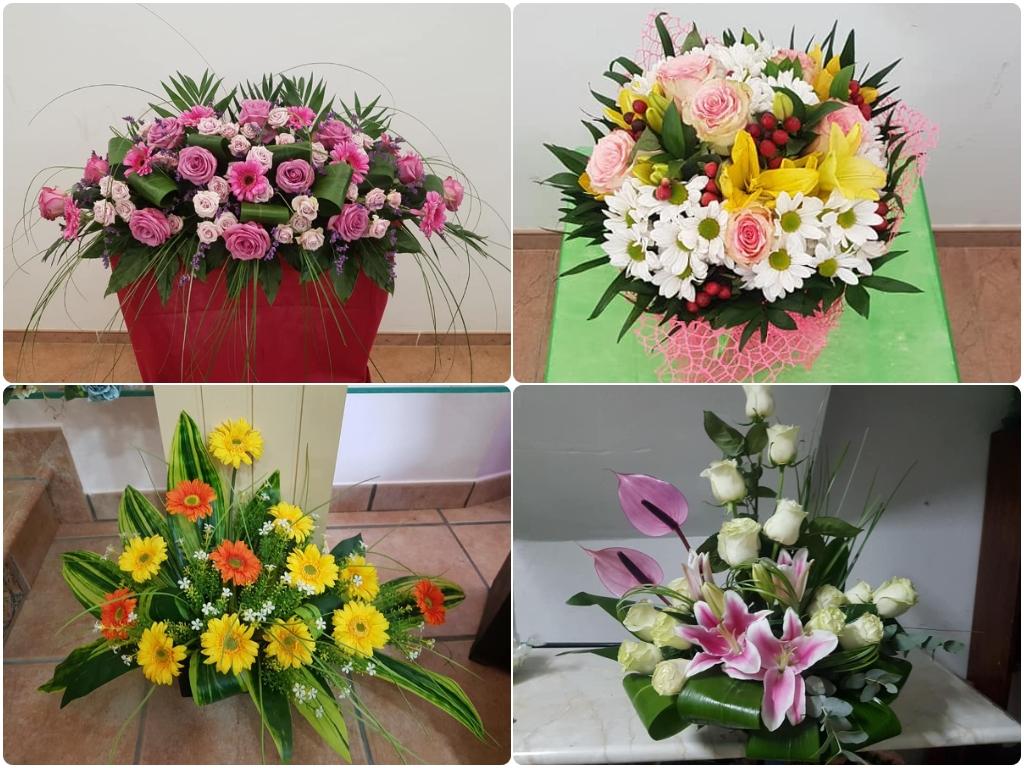 ramos de flores en motril, floristerias en salobreña, floristerias en almuñecar, rosas en motril,