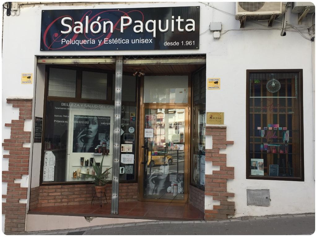 Salón Paquita en salobreña, peluqueria paquita en salobreña, kerastase en salobreña, esteticistas