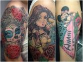 tatuajes baratos en la provincia de granada, aerografo en motril, retratos en motril, dibujos motril