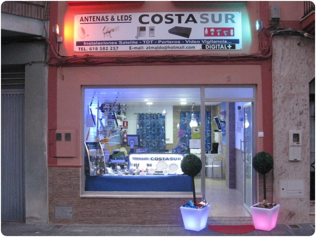 ANTENAS Y LEDS COSTASUR