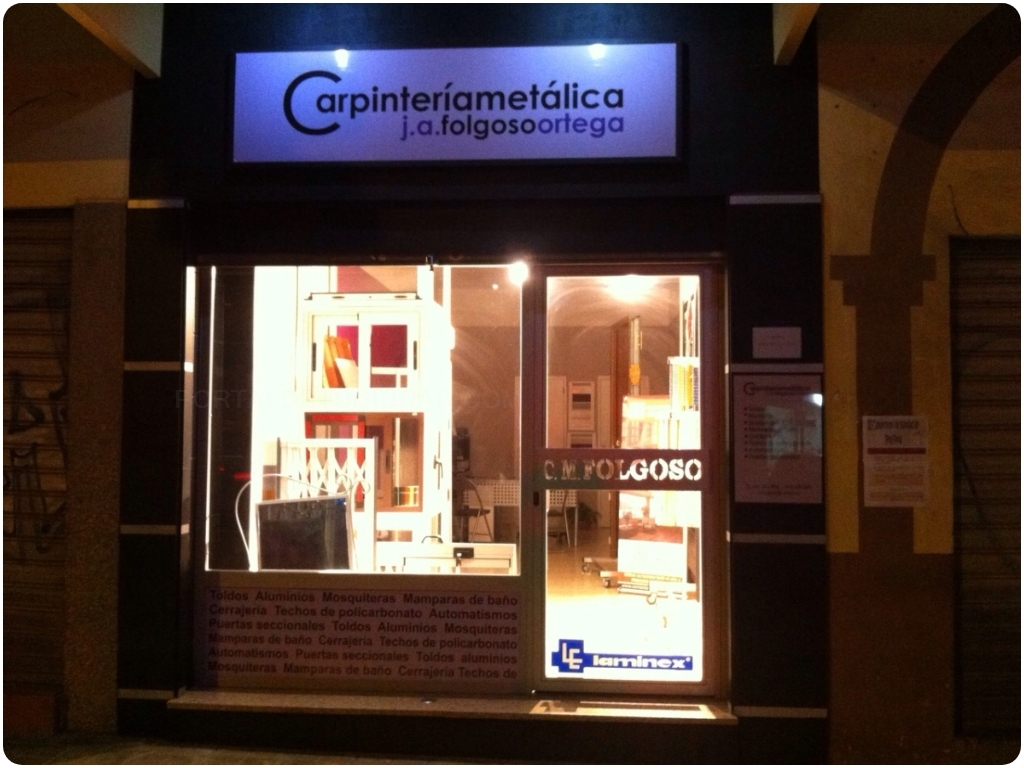Carpintería Metálica J.A. Folgoso