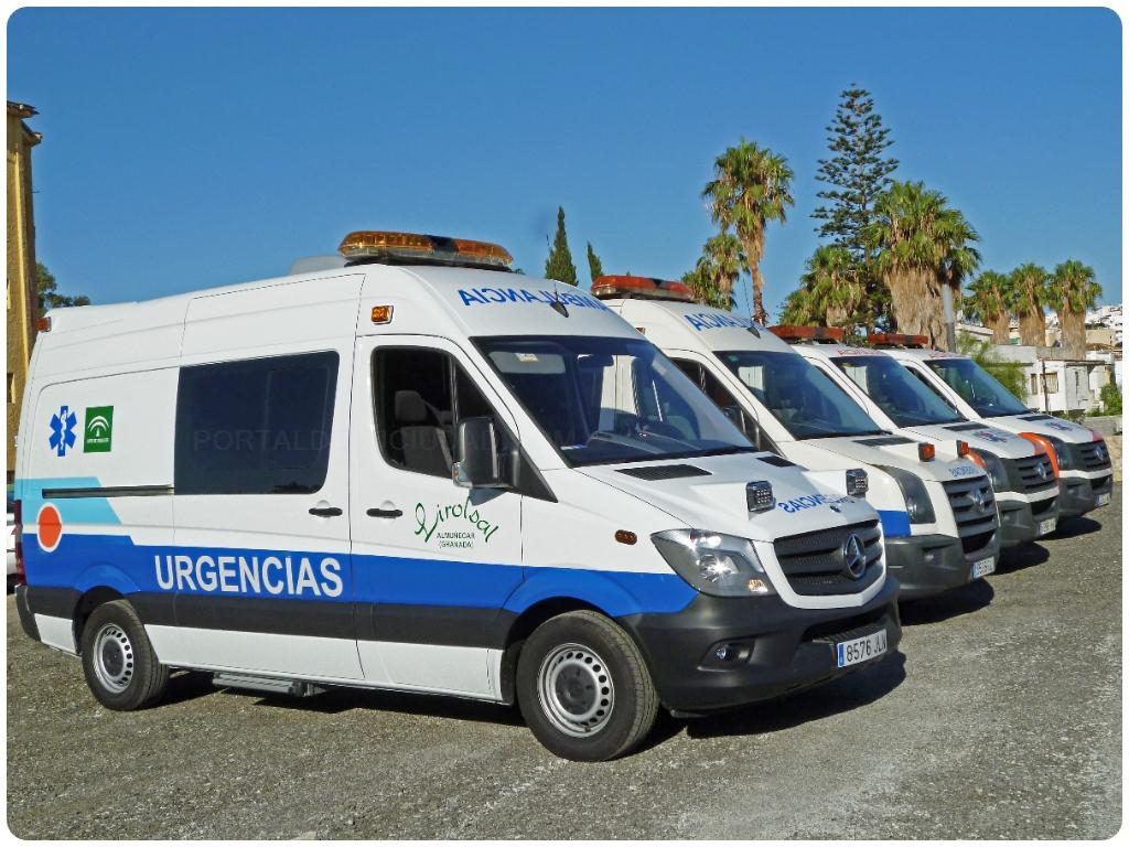 ambulancias en taramay, ambulancias en lobres, ambulancias en costa tropical,