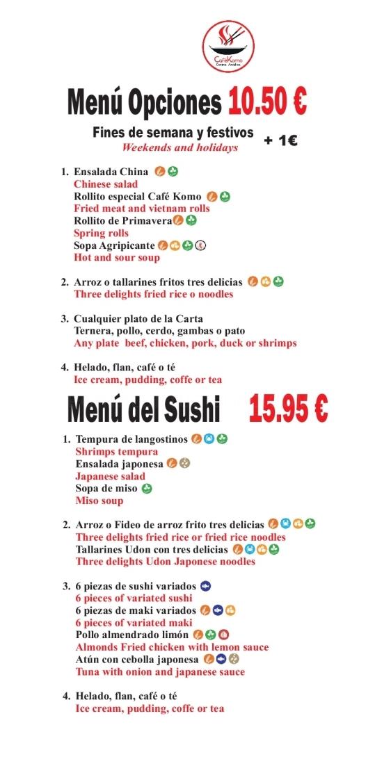 tallarines en motril, tallarines motril, bebidas motril, menu infantil en motril, arroz frito motril